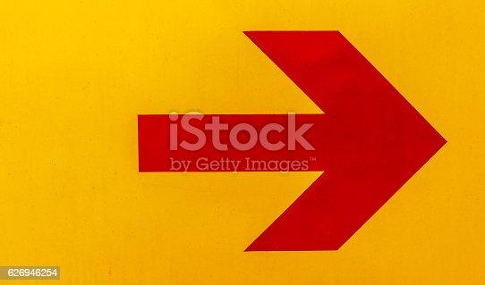 istock Red arrow image 626946254