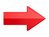 istock red arrow on white background. Isolated 3D illustration 1296789917