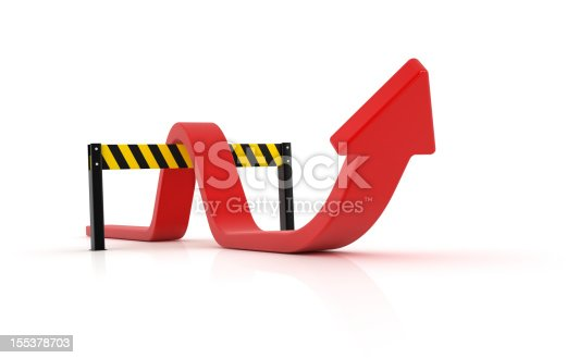 istock Red Arrow 155378703