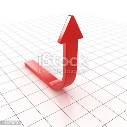 istock Red Arrow 155378792