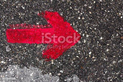istock Red arrow 507845398