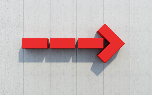 1062884120 istock photo red arrow show direction 931938764