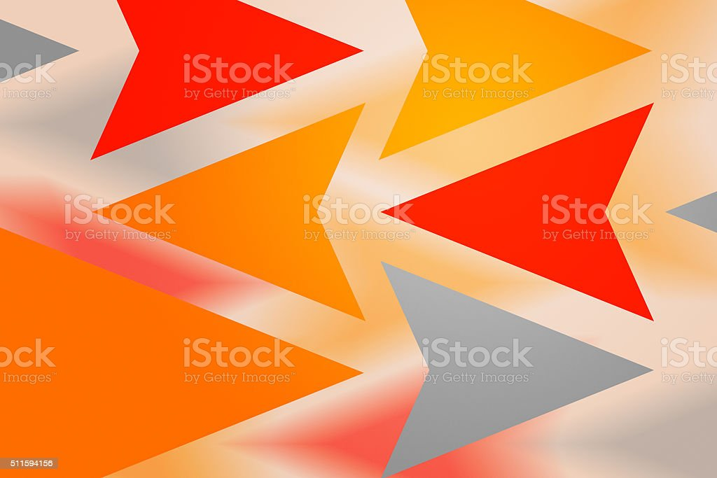 Red Arrows Abstract Background stock photo