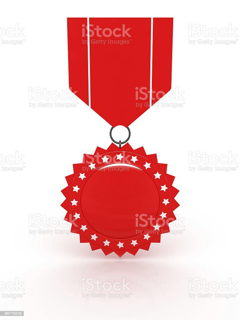 Red Award Series royalty-free stock photo