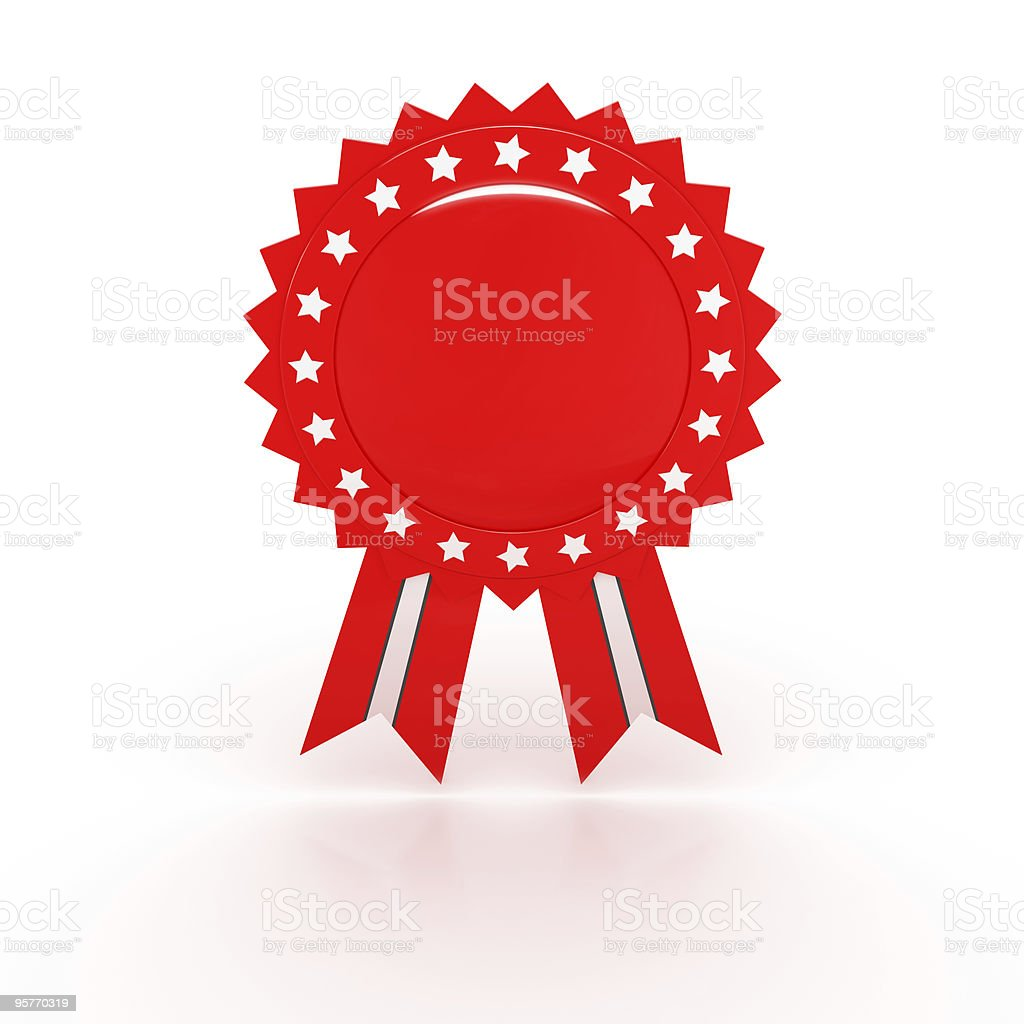 Red Award Series stock photo