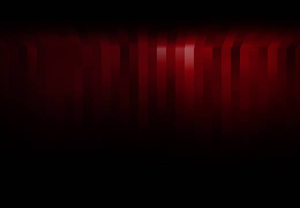 Red background Christmas Valentines Striped pattern design. stock photo