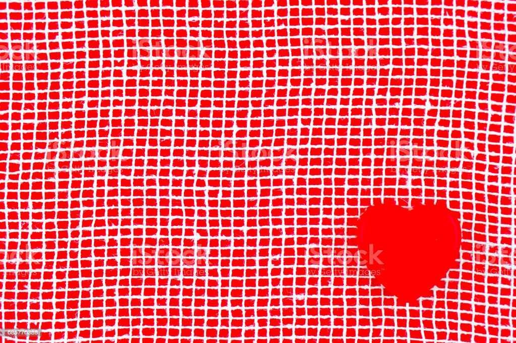 Red background for love card. royalty-free stock photo
