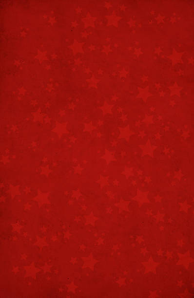 Red background with star shapes XXL圖像檔