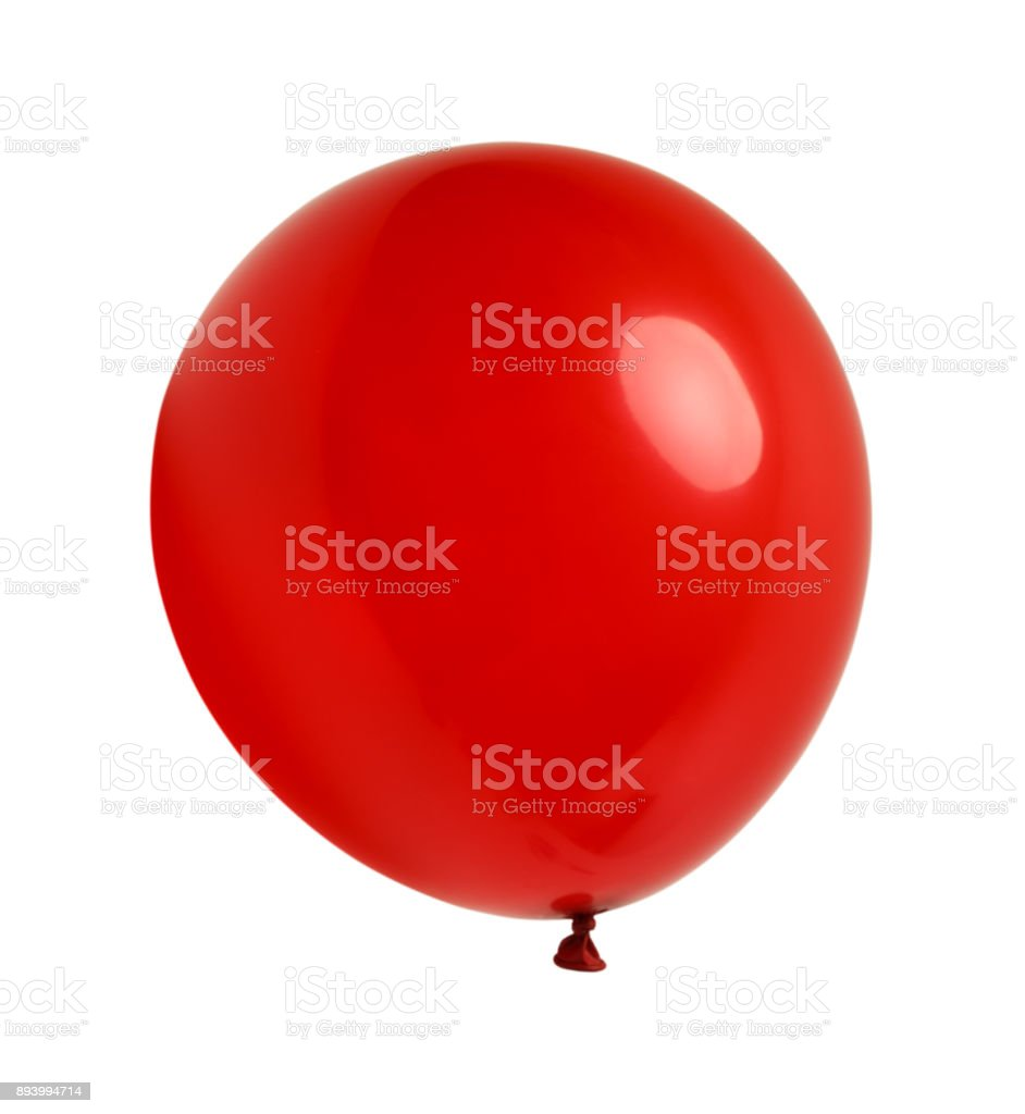 Red Ballon stock photo