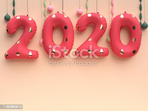 istock red balloon 2020 3d render type number 1180980913