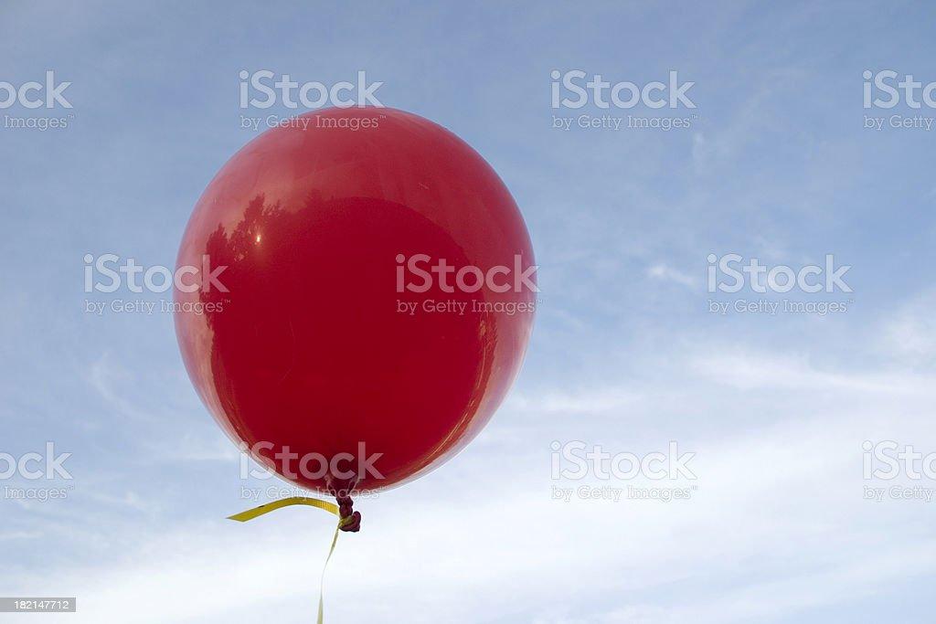 Red Balloon stock photo
