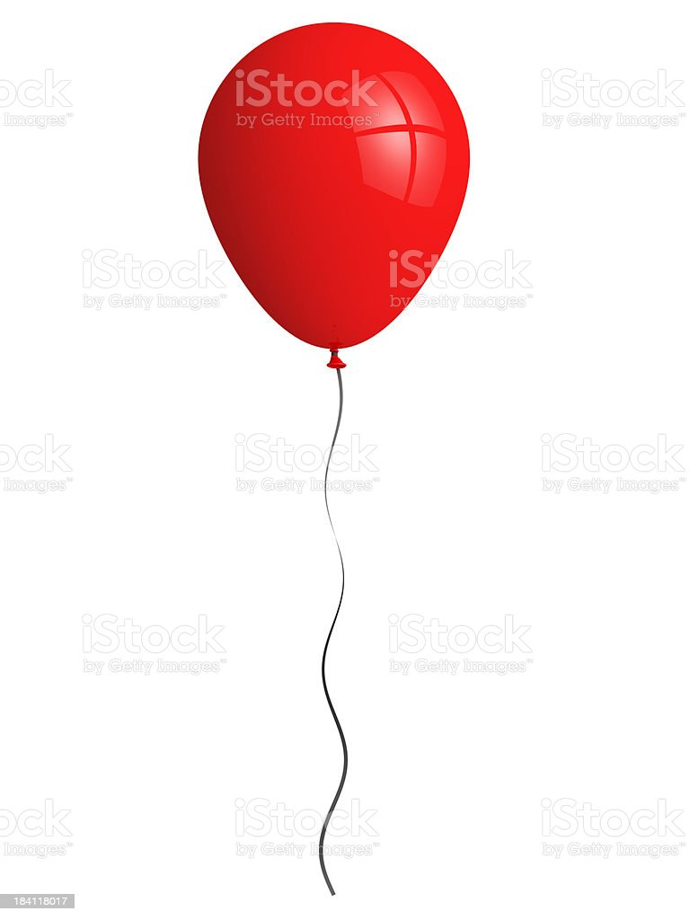 red balloon stock photo more pictures of balloon istock. Black Bedroom Furniture Sets. Home Design Ideas