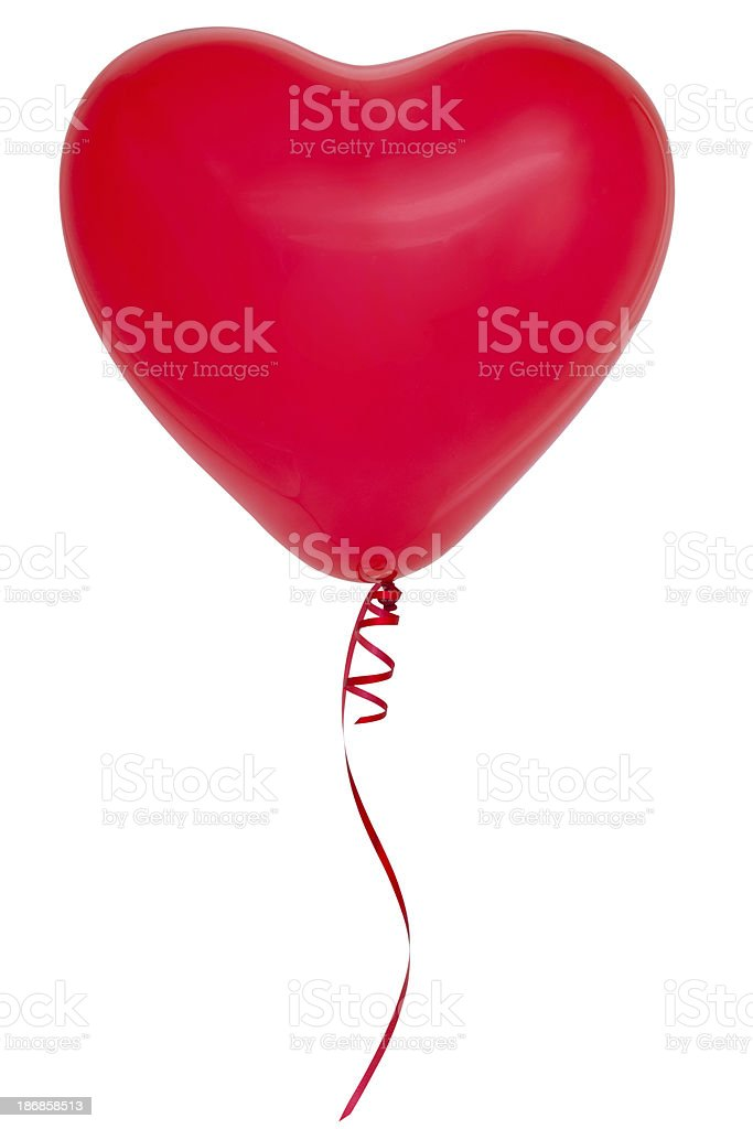 Red balloon. royalty-free stock photo