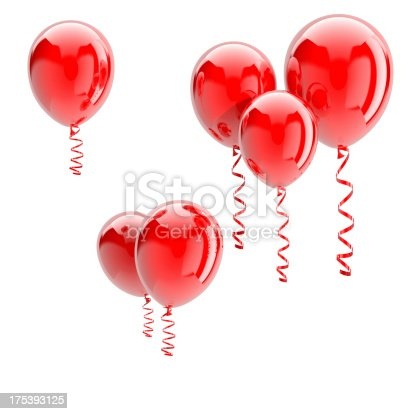 istock Red Balloons 175393125