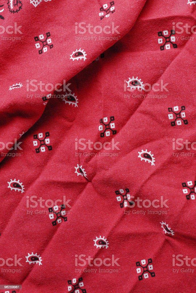 Red bandana stock photo