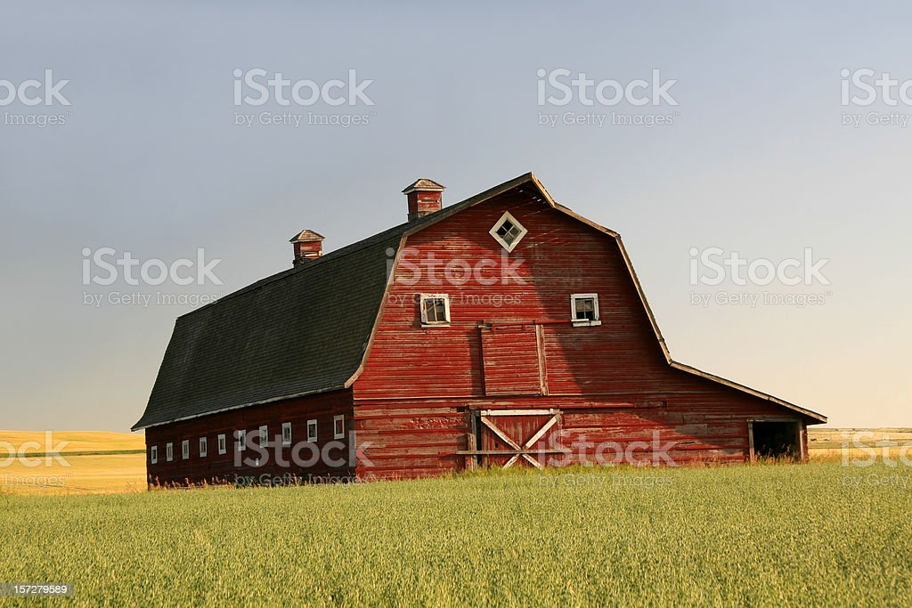 Red Barn 2 royalty-free stock photo