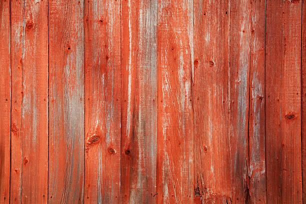 Red Barn Siding stock photo