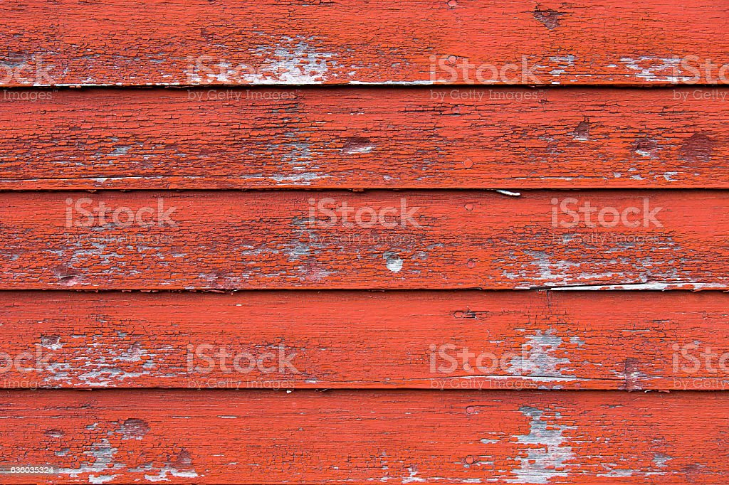 Red Barn Wood stock photo
