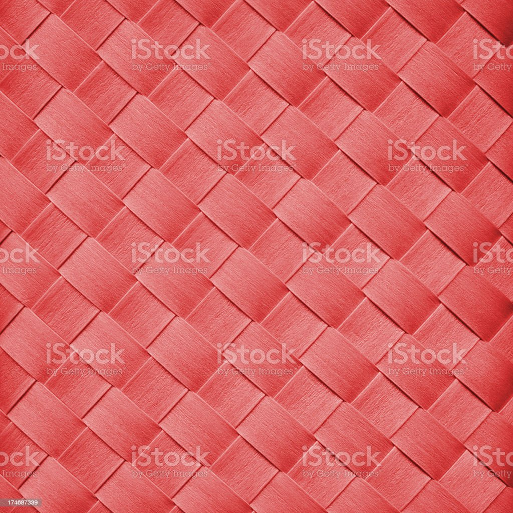 red basket pattern royalty-free stock photo