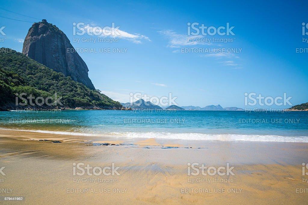 Red Beach, Rio de Janeiro, Brazil stock photo