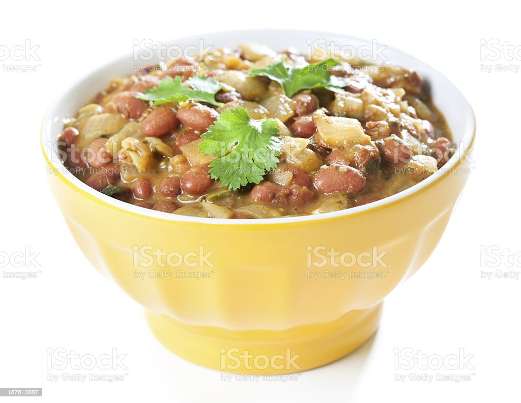 Red Bean Curry stock photo