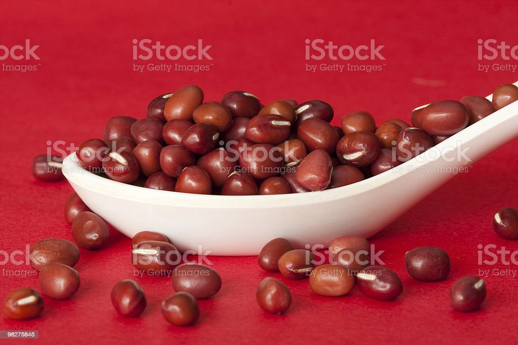 Red beans royalty-free stock photo