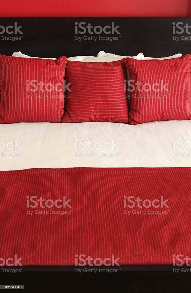 Red Bed royalty-free stock photo