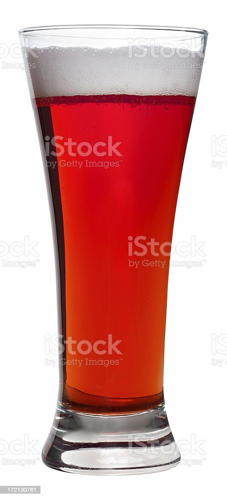 Red Beer royalty-free stock photo
