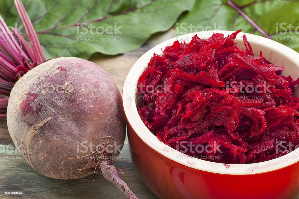 red beet grated royalty-free stock photo