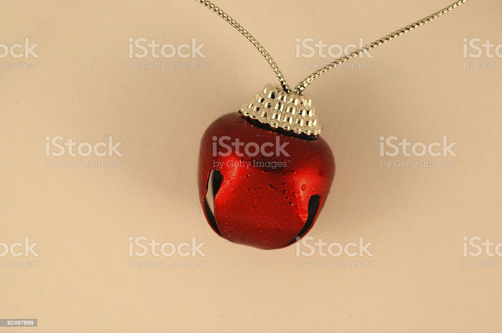 Red Bell royalty-free stock photo