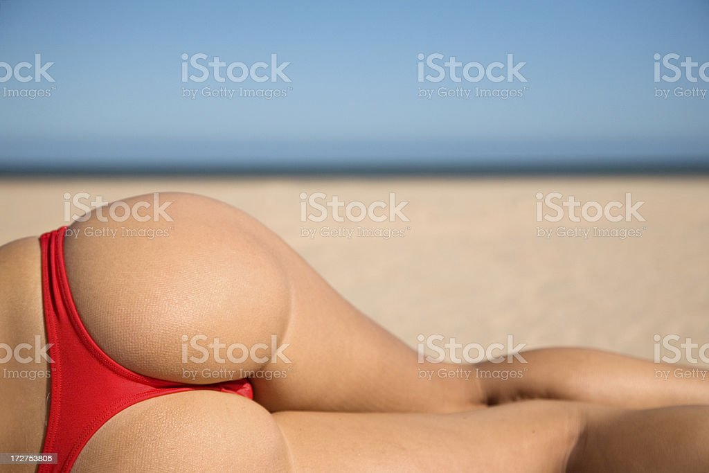 Red Bikini stock photo