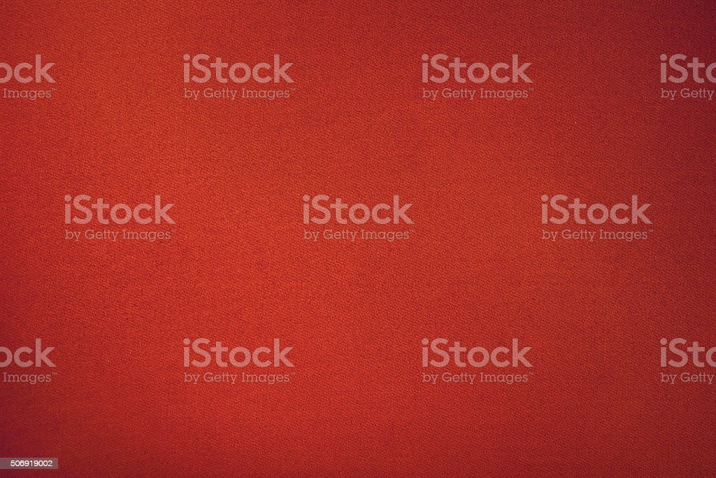 red biliard cloth color texture close up stock photo