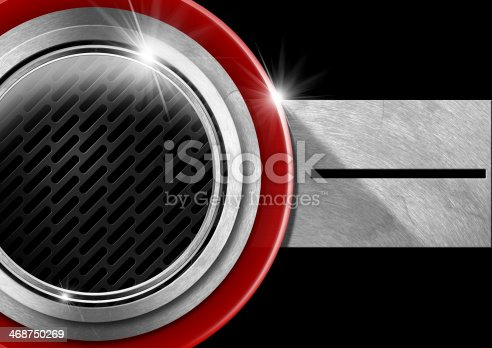 153984410istockphoto Red Black and Metal Abstract Background 468750269
