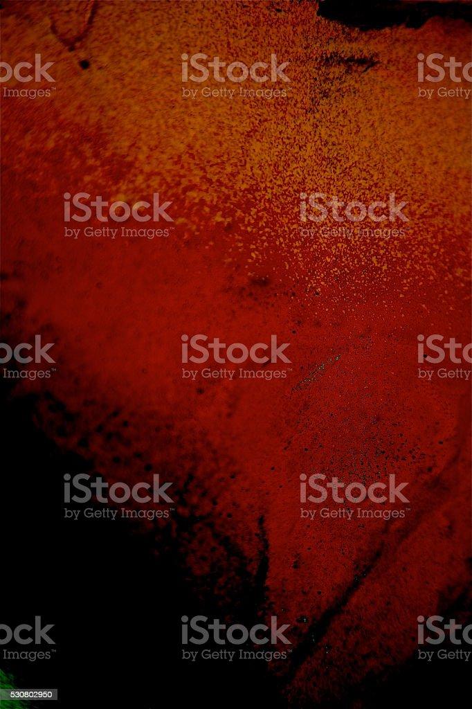 Rosso Nero Sfondo Dipinto Astratto Motivo Di Graffiti Parete Di