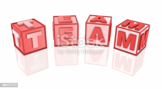 873187696 istock photo Red Block 98427212