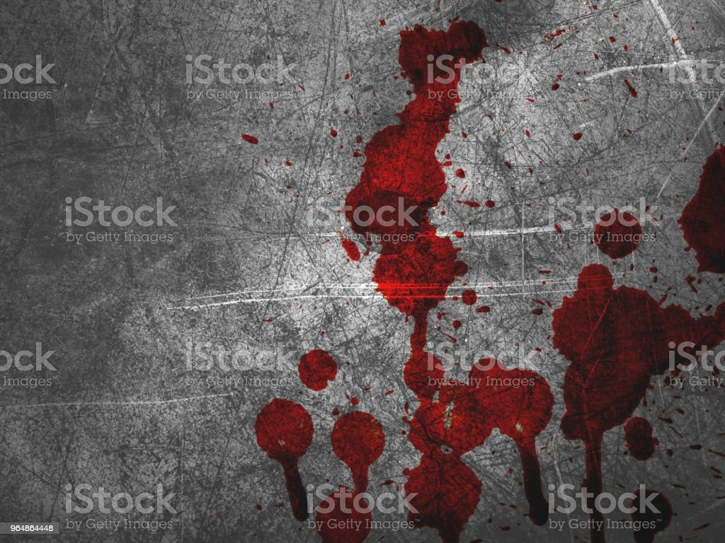 red blood on cement wall texture royalty-free stock photo