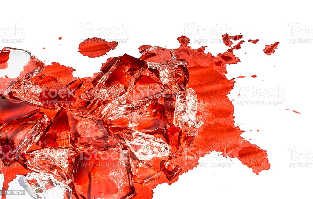 red blood stock photo