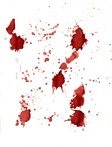 Blood stains series