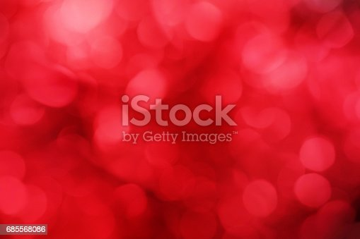 festive abstract red blur bokeh light background