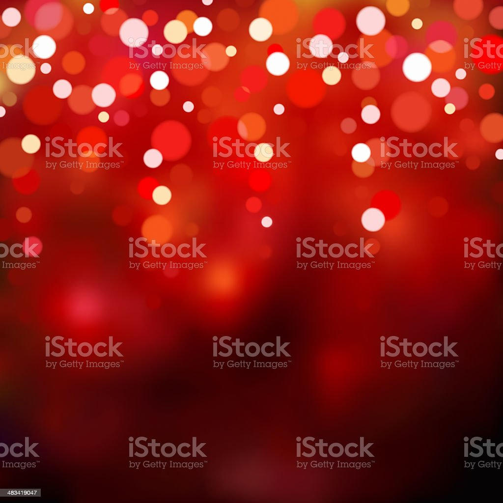 Red blurry lights. royalty-free stock photo