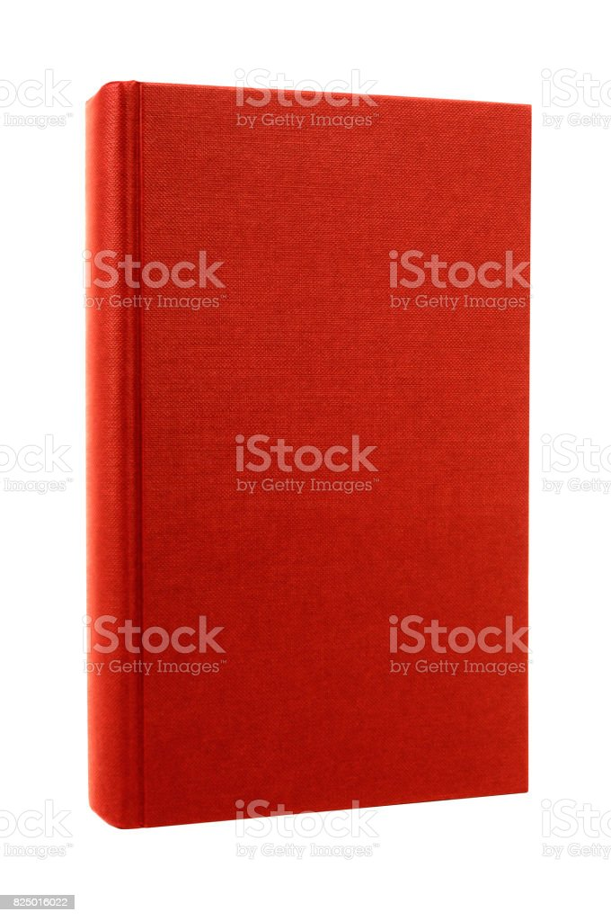 Red book front cover stock photo
