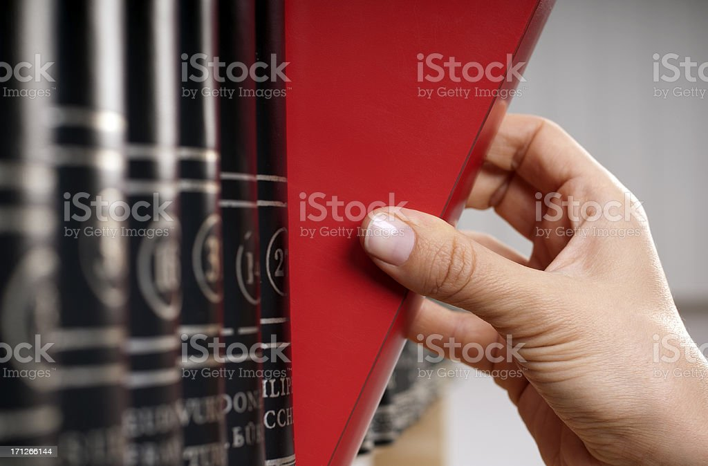 red book royalty-free stock photo