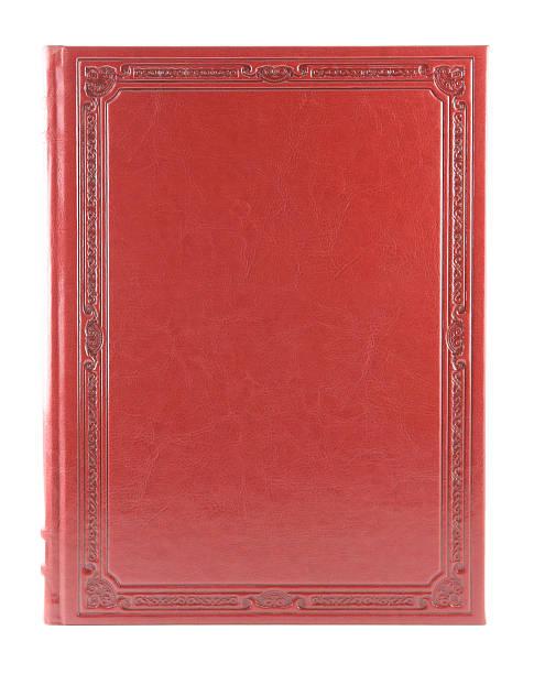 Rosso book - foto stock