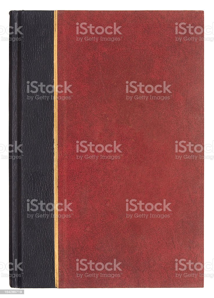 Red Book with Clipping Path royalty-free stock photo