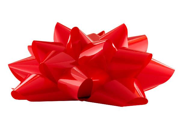 rote schleife auf der oberseite – xxl - geschenkschleife stock-fotos und bilder