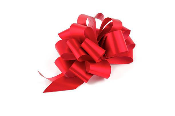 rote schleife - geschenkschleife stock-fotos und bilder