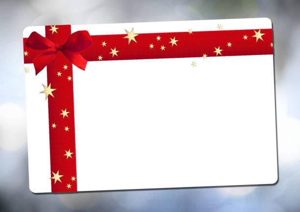 rote schleife  - günstige weihnachtsgeschenke stock-fotos und bilder