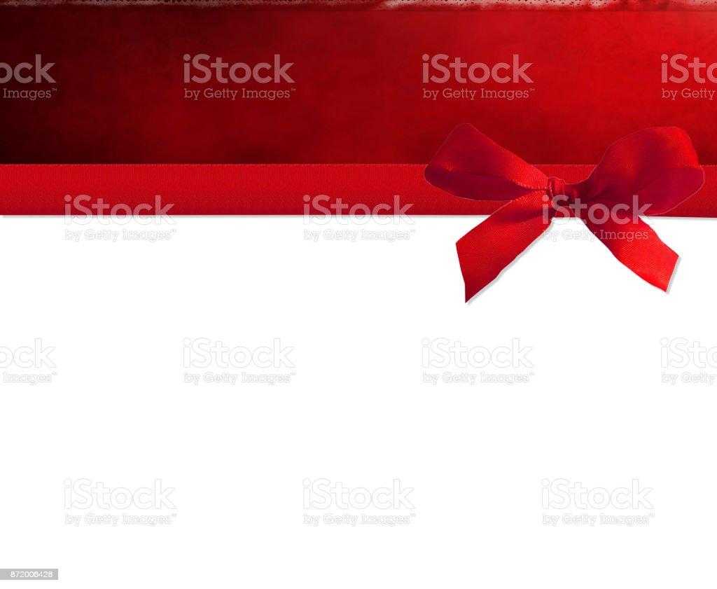 Rote Schleife  – Foto