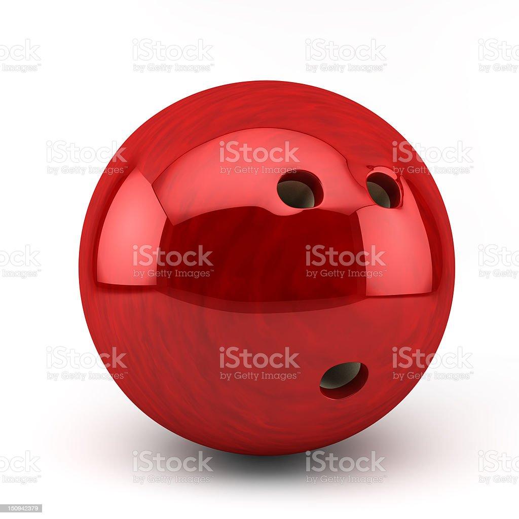 red bowling ball – Foto