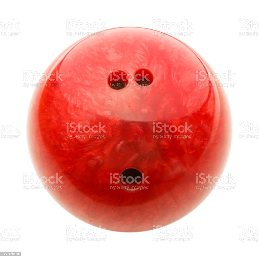 Red Bowling Ball – Foto